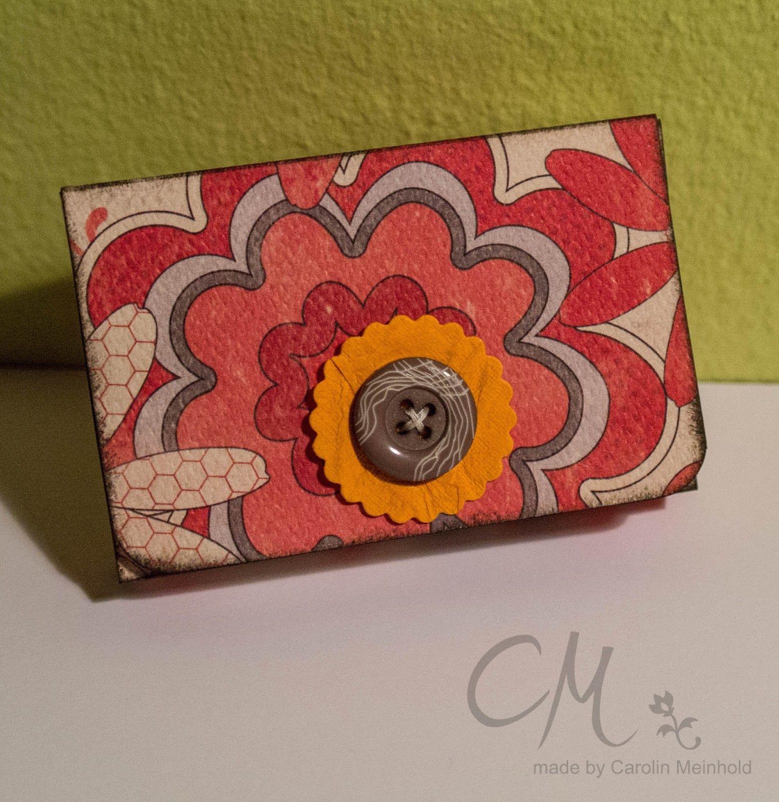 Box Für Visitenkarten Caros Bastelbude Blogbeiträge