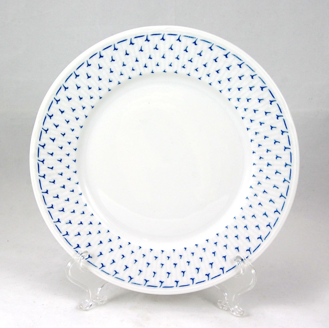 Rorstrand Bla Vinge Unknown Pattern Dessert / Pie Plate 7 in. Ribbed Blue White  sc 1 st  Pinterest & Rorstrand Bla Vinge Unknown Pattern Dessert / Pie Plate 7 in ...