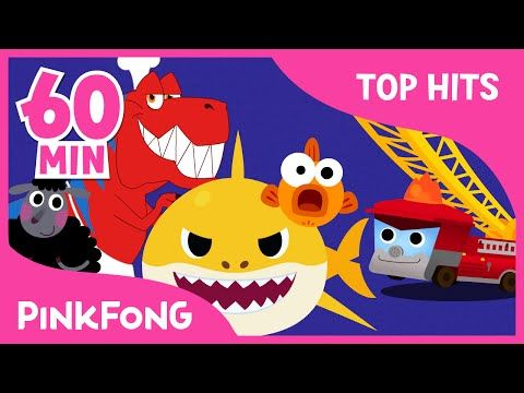 Baby Shark and 50+ Songs | + Compilation | PINKFONG Songs