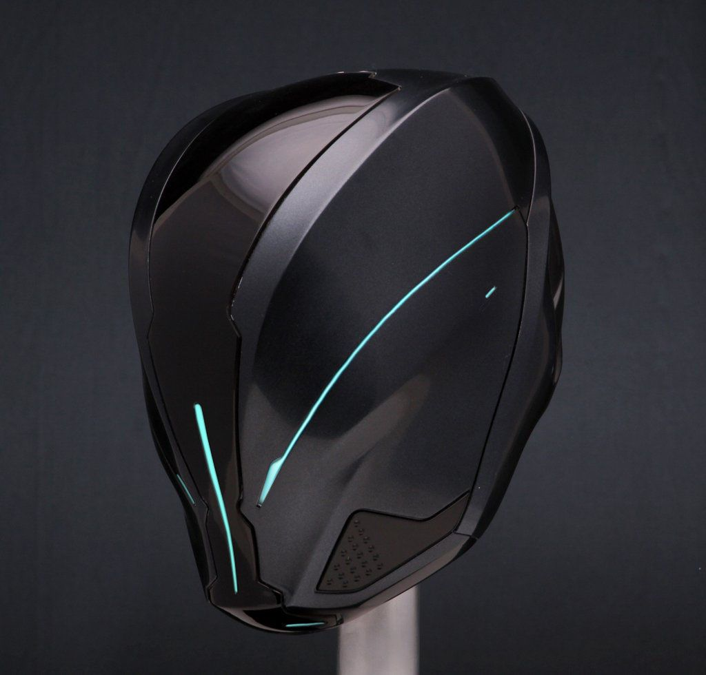 ironhead studio tron legacy robot cyborg transhuman pinterest casque casque design. Black Bedroom Furniture Sets. Home Design Ideas