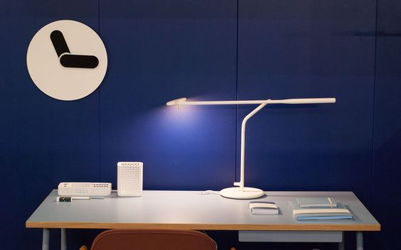 Normann releases new products for fall 2016 in M&O – Crioll Designshop. Journal desk, flow table lamp, bold clock, workspace