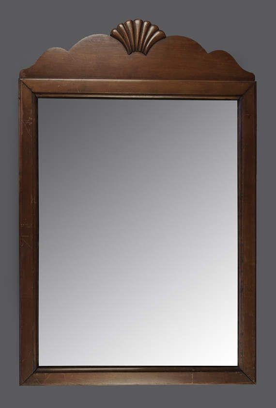Astounding Set Of 3 Wood Mirror Wall Panel 48 W 48 H By Uma