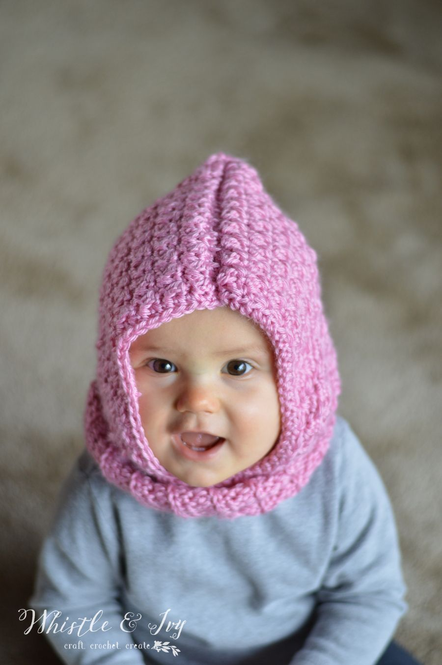 Crochet Baby Hooded Cowl | Hooded cowl, Baby warmer and Crochet baby