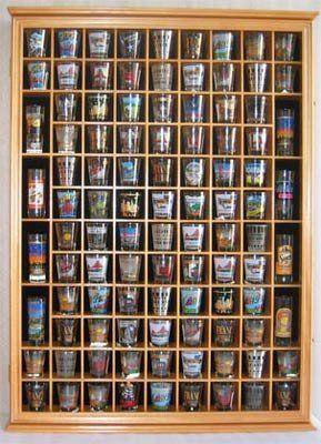 100 Shot Gl Display Case Cabinet With Hinged Door 10