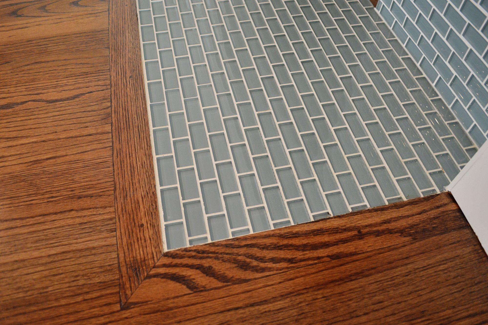 Ocean X Mini Glass Subway Tile Pinterest Residential - Strongest floor tile
