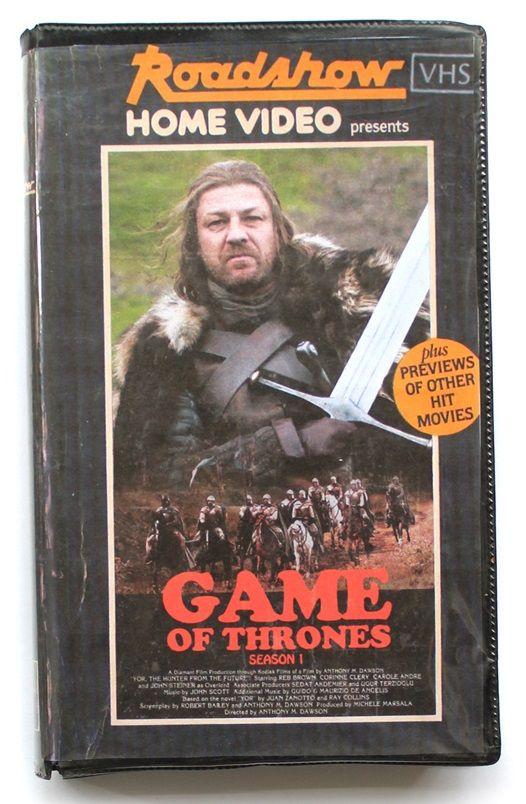 Como Seriam as Capas de Filmes e Séries Atuais se Fossem Lançadas na Época do VHS ?