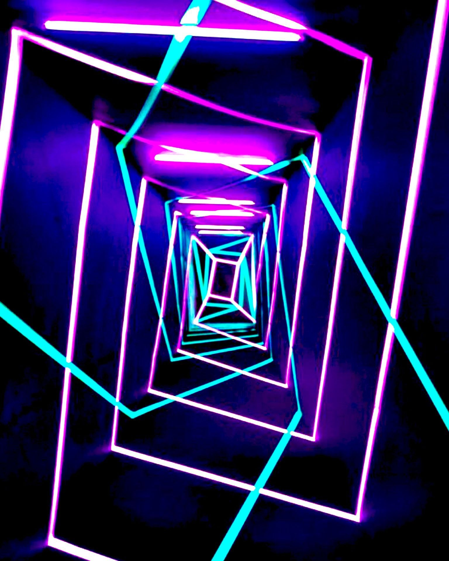 Neon Tunnel Neon Wallpaper Neon Backgrounds Neon