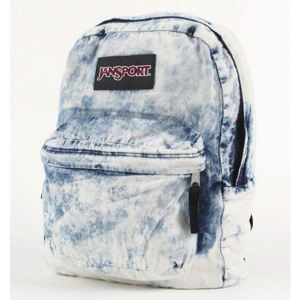 JanSport Denim Daze Backpack ❤ liked on Polyvore ...