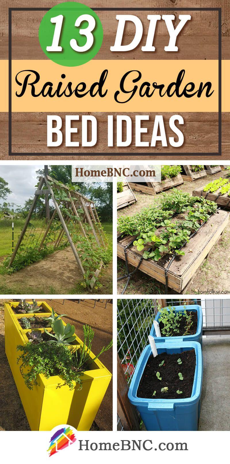 13 Cheap And Easy Diy Raised Garden Beds You Can Actually Build