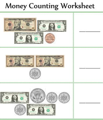 count money worksheets, Free Printable Grade 2 money counting math ...