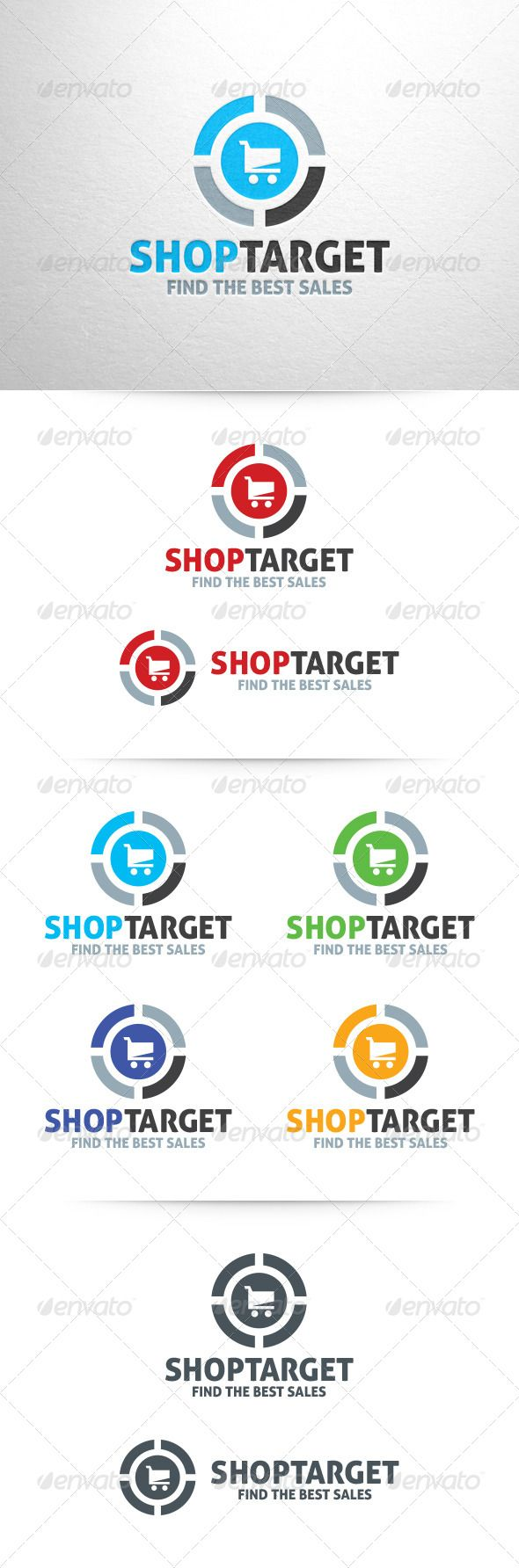 Shop Target Logo Template Logo Templates Logos And Design Layouts - Logo layout templates