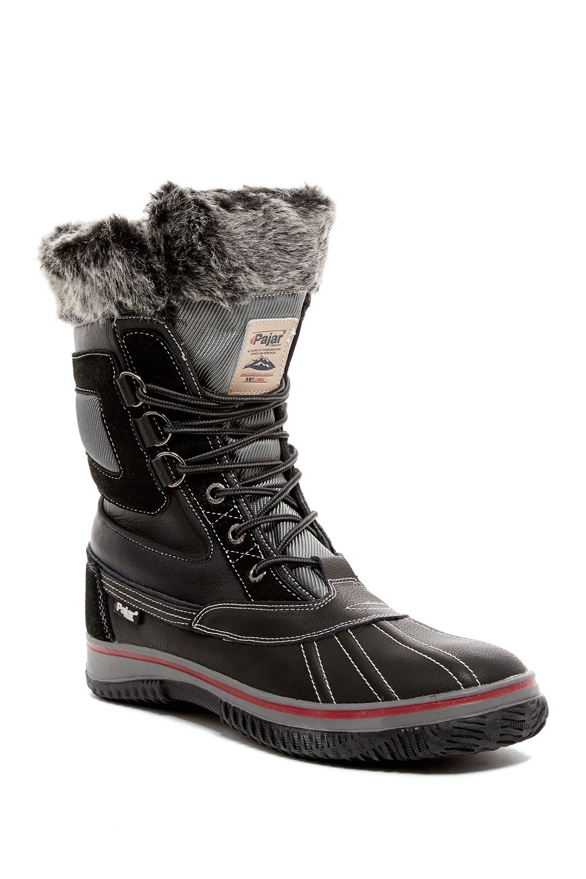 Pajar Tyrol Fleece Trim Waterproof Boot Boots
