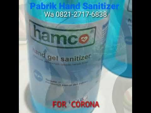 Grosir Hamco Hand Gel Sanitizer Agen Distributor Antiseptik