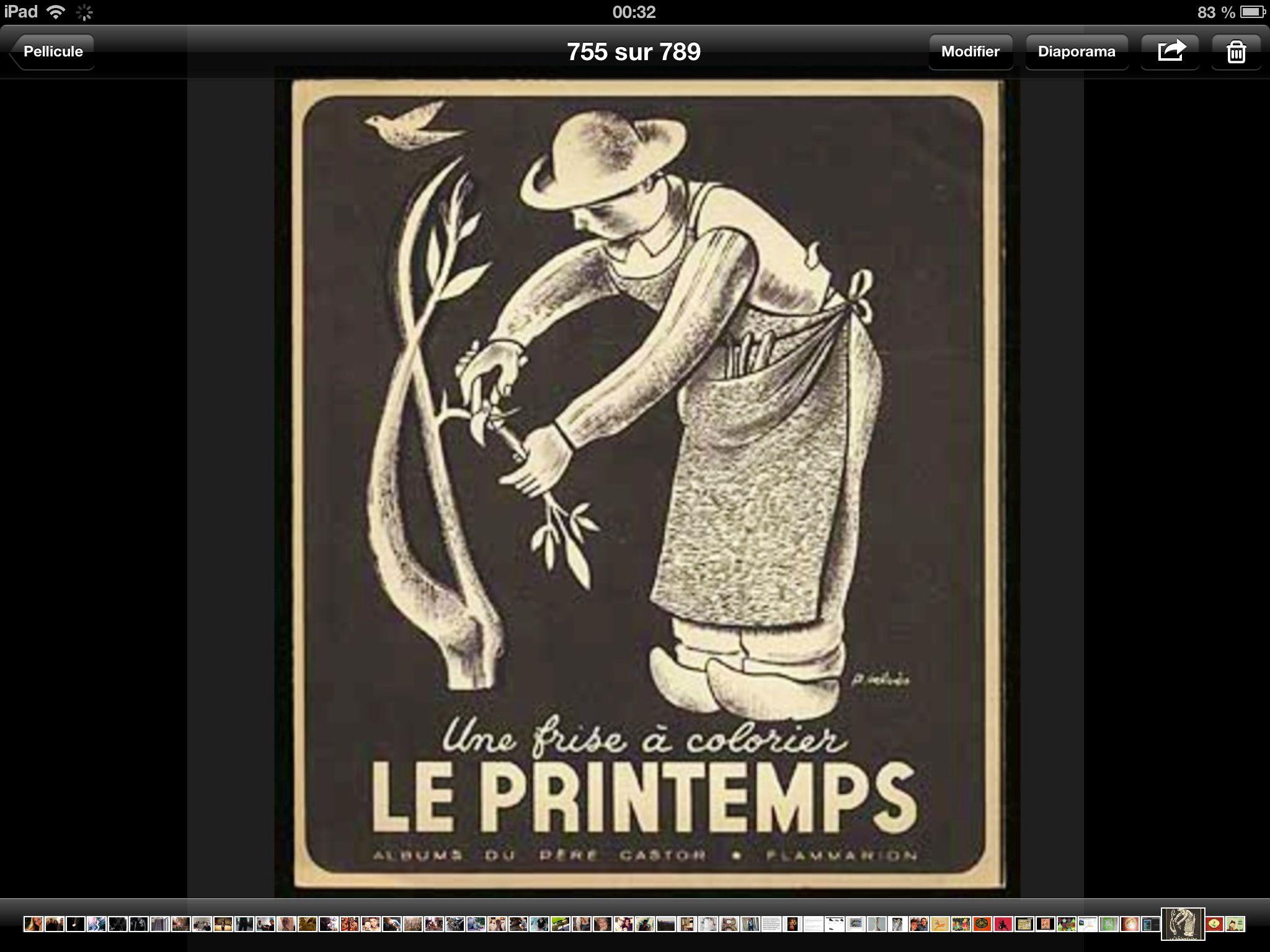 131. LE PRINTEMPS Pierre Belvès 1947
