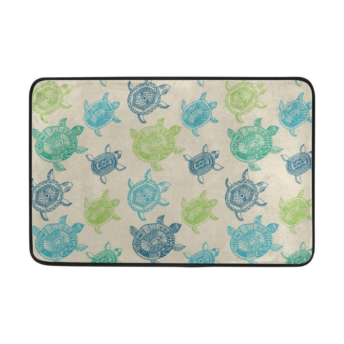 Merveilleux Yochoice Non Slip Door Mat Home Decor, Cartoon Sea Turtle Durable Indoor  Outdoor Entrance