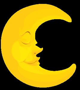 Imagem Lua Lua Crescente Dormindo Clip Art Lua Lua Imagens