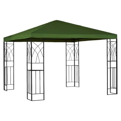 Room Essentials® Tivoli 10x10u0027 Replacement Gazebo Canopy - Green  sc 1 st  Pinterest & 10x10u0027 Replacement Gazebo Canopy - Green - Room Essentials ...