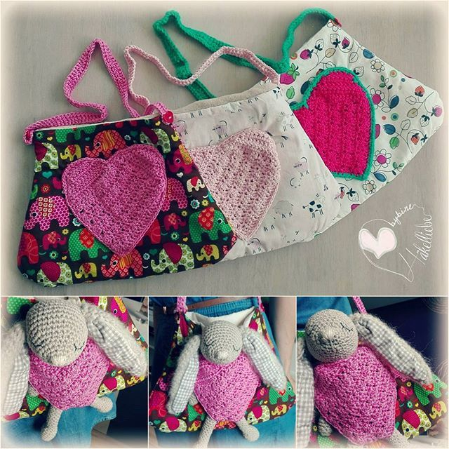 Bag which holds your little sweetheart  #bag#crochetlove#crochet#sew#sewing#sweetheart