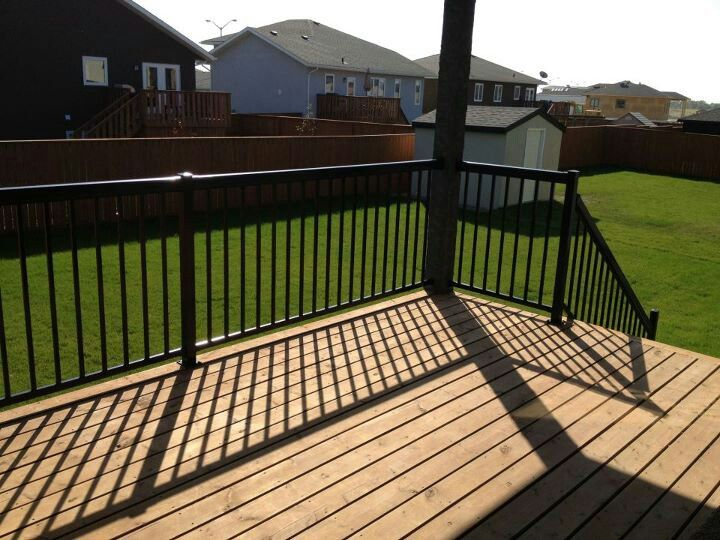 deck railing simple effective durable system regal rail glass systems toronto rona cost