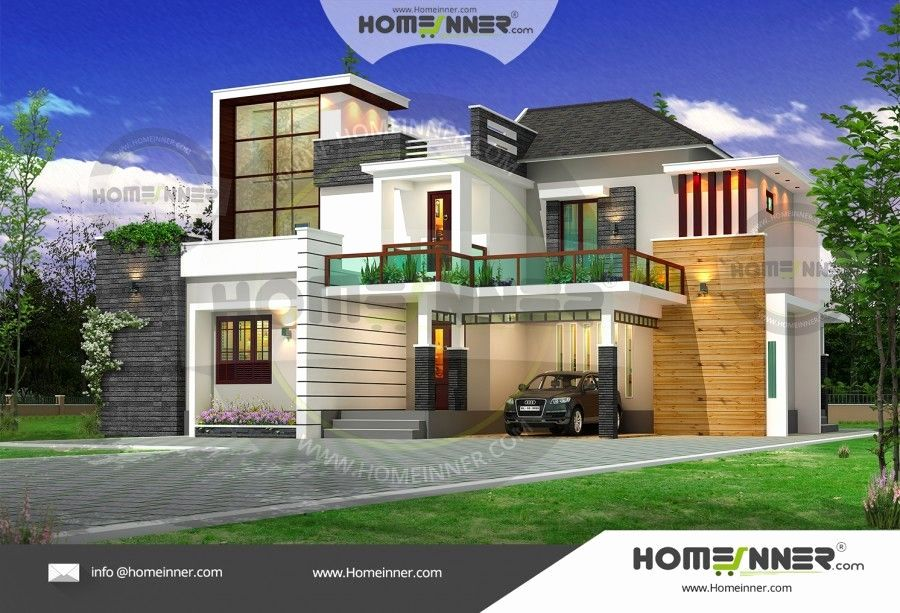 Modern House Plans Free Luxury 2800 Sq Ft 4 Bhk Ultra Modern Indian Duplex House Plan