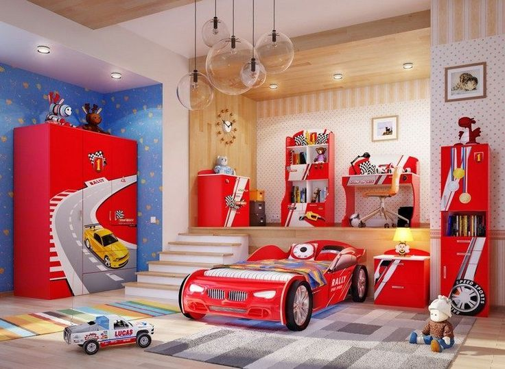Beautiful Chambre Garcon Voiture De Course Contemporary - Design ...
