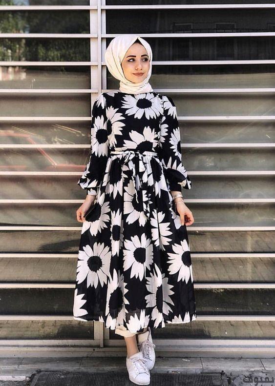 فساتين خروج للمحجبات أجمل فساتين خروج للمحجبات موضة 2020 بفبوف Muslim Fashion Dress Muslim Fashion Outfits Muslim Fashion Hijab