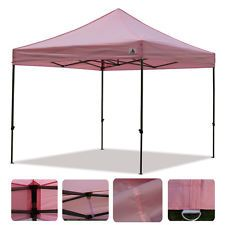 Pink Ez Pop Up 10x10 Party Tent Folding Gazebo Beach C&ing Canopy  sc 1 st  Pinterest & Pink Ez Pop Up 10x10 Party Tent Folding Gazebo Beach Camping ...