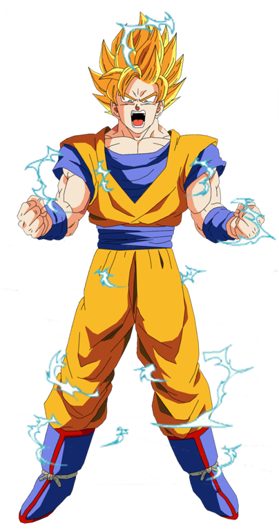 Supersaiyano De Segundo Grado Personajes De Dragon Ball Personajes De Goku Super Saiyajin