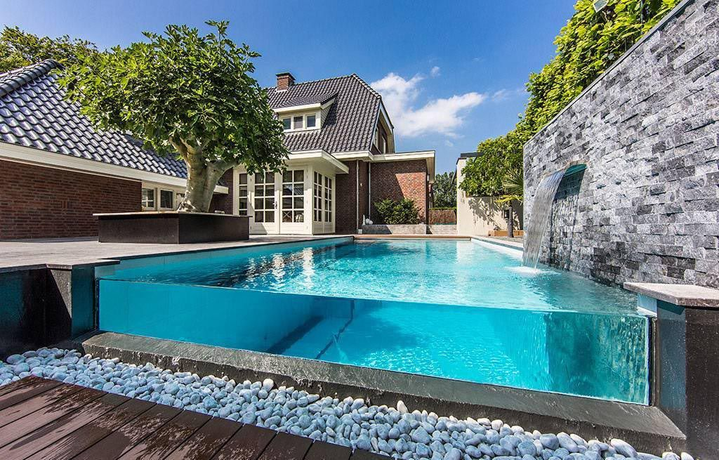 Swimming Pool Fountain Ideas home sweet home pinterest pool fountain fountain and swimming pools Above Ground Pool Fountains And Waterfalls