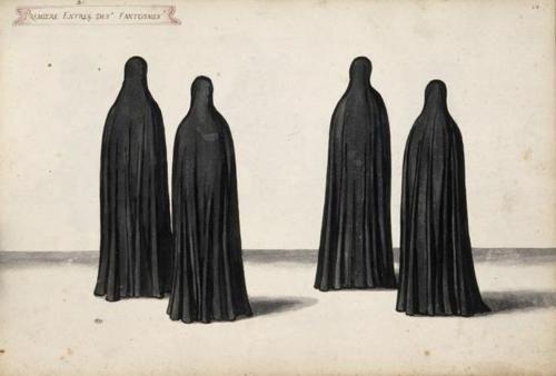 Daniel Rabel, Première entrée des fantômes, quatre figures, 1632