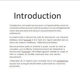 Exemple D Introduction Rapport De Stage Exemple D