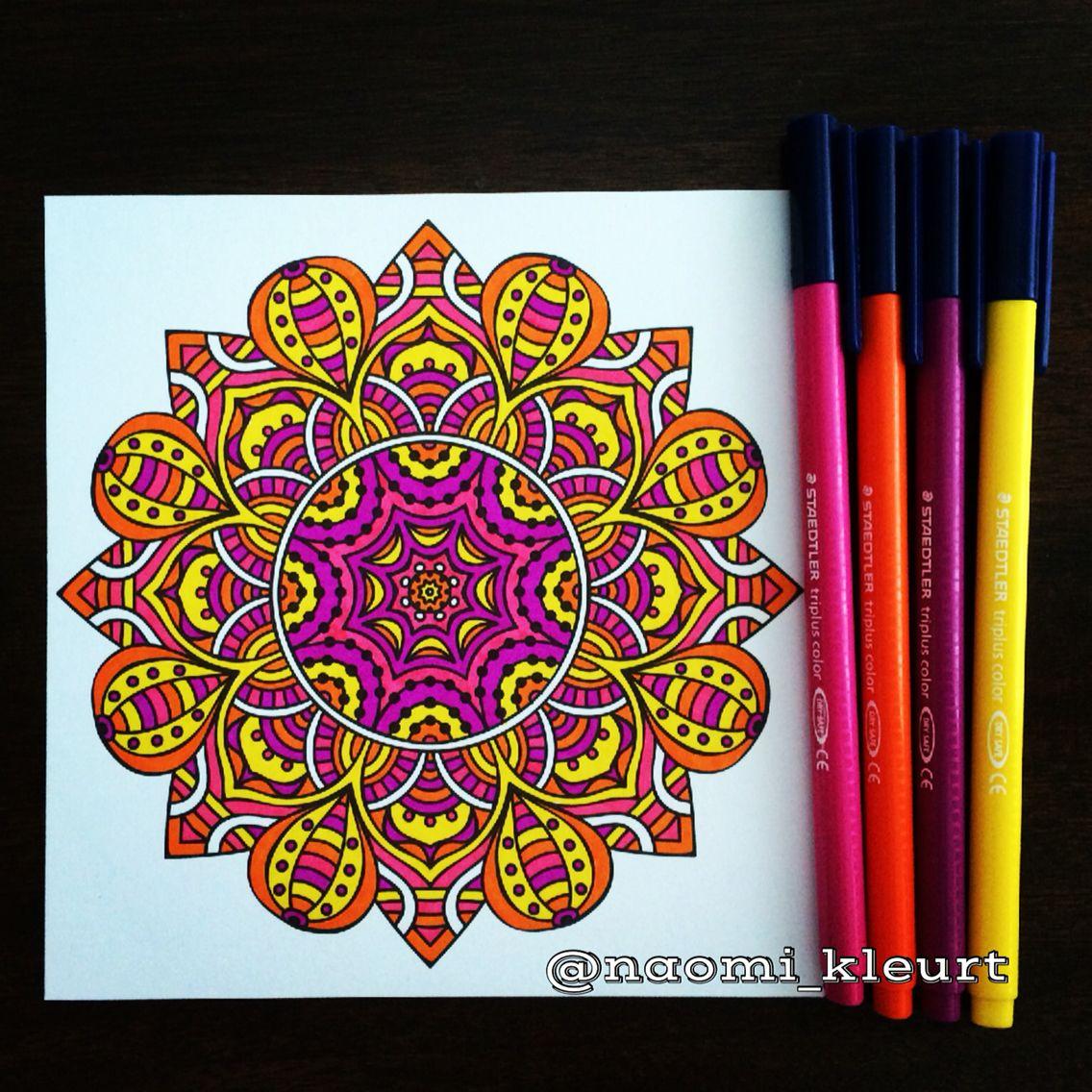 Kleuren Voor Volwassenen Mandala Kleurboek Mandalart Het Enige Echte Printable Coloring PagesTesArt