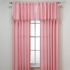 Another choice for kids stage curtains...the valance is cute with its beads