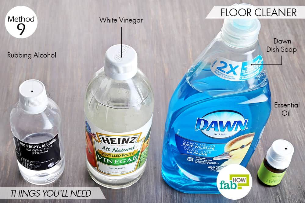 Things Needed To Use Dawn Dish Soap To Make Floor Cleaner Dawn Dish Soap Floor Cleaner Dawn Cleaner