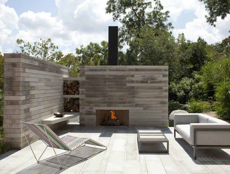 ideas minimalistas para el jardín paisajismo Pinterest Jardín - jardines en terrazas