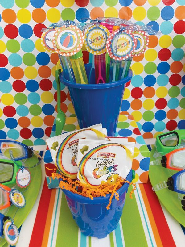 Pool Party Favors Ideas summer pool party ideas Summer Pool Party Ideas