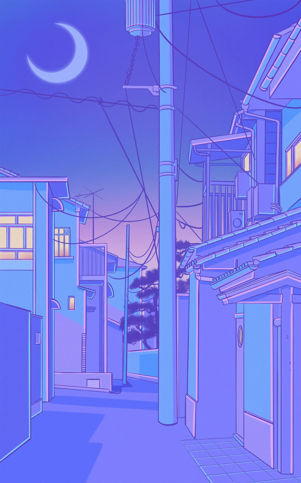 Tokyo Streetscapes In 2020 Blue Aesthetic Pastel Anime Scenery Wallpaper Aesthetic Pastel Wallpaper