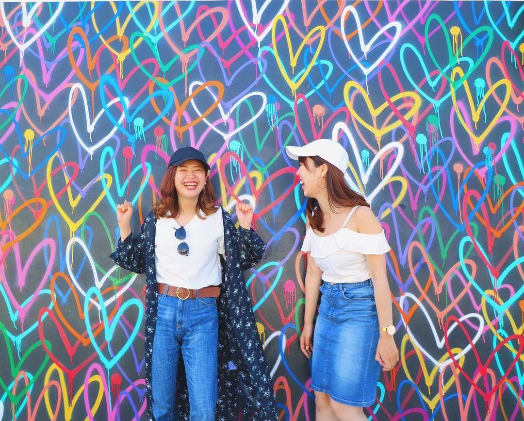 出逢った人達にも恵まれて、 一日一日時間が経つのがほんと早くて ひたすら笑ってたLA旅行だった🇺🇸💕 これから日本に帰ります✈︎🇯🇵 #ロサンゼルス旅行 #アボットキニー  #abbotkinney #さのまつtrip #sanomaritravel