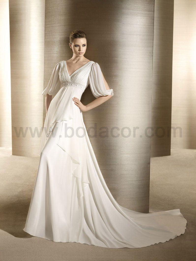 vestidos novia corte imperio - Buscar con Google | Vestidos novia ...
