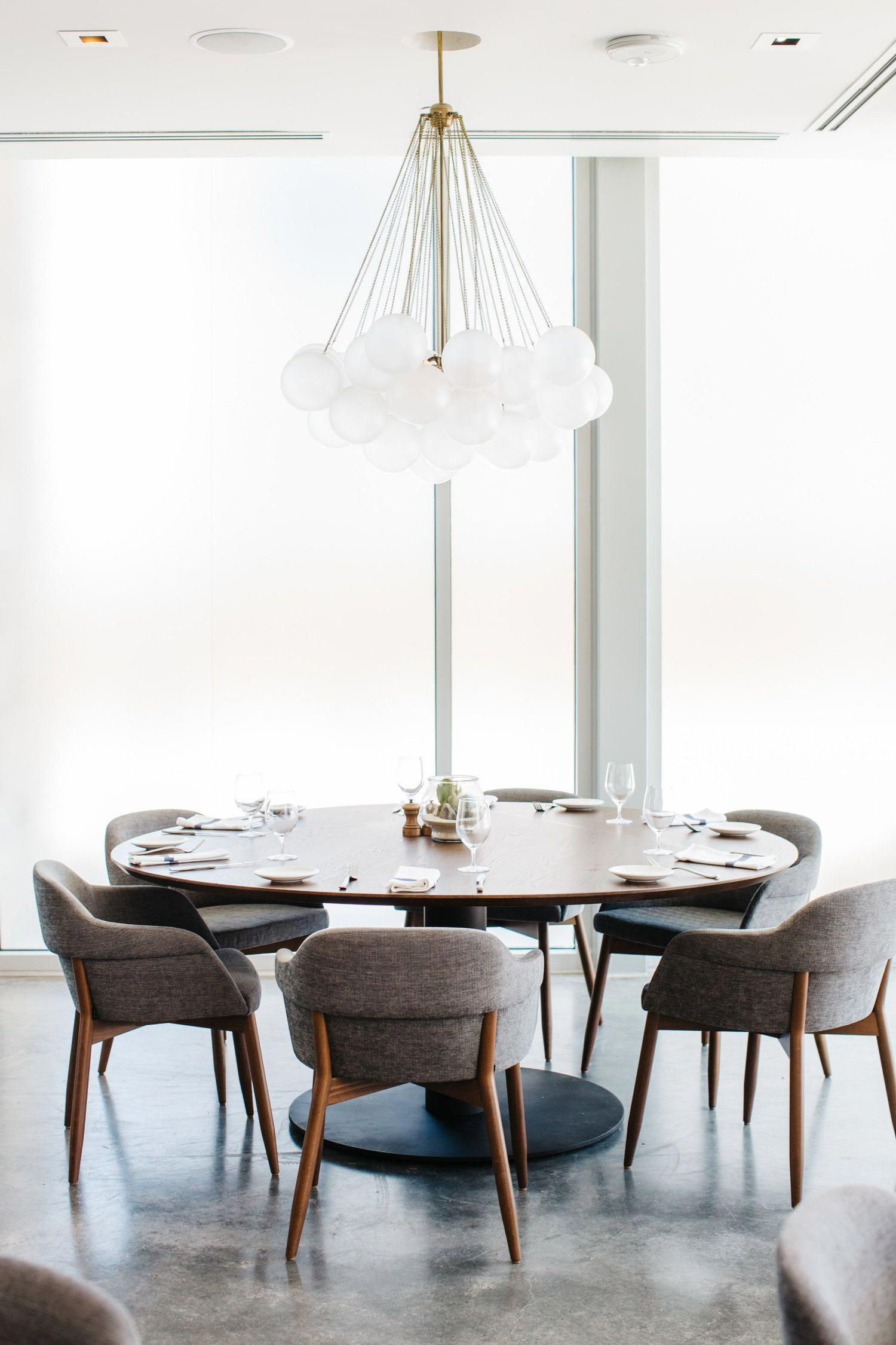 Mid Century Style Dining With A Contemporary Touch Round Table