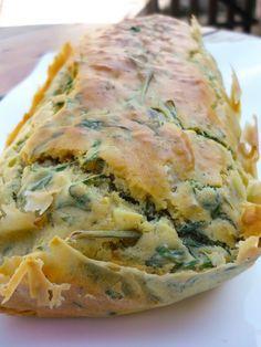 La Bonne Graille: Cake aux fanes de carottes, oignon et cidre