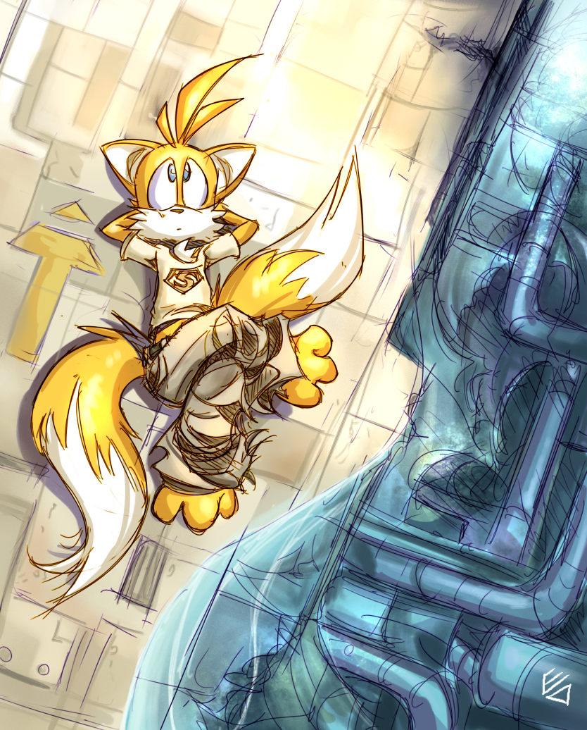 savara by edtropolis - Tails fan art from Sonic the Hedgehog Love the colors and the feel of this piece, so pinning it here, even though it's fan art. XD