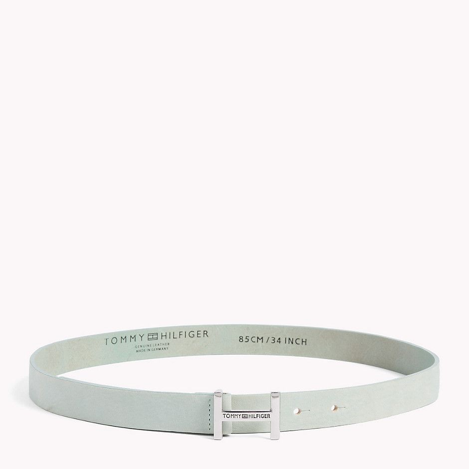 Tommy Hilfiger Signature H Belt - marine blue (Green) - Tommy Hilfiger Belts - main image