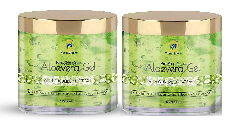 Bio Skin Care Pure Green Aloe Vera Gel For Skin Hair