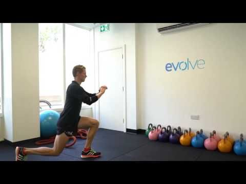 Hello everyone! In this video I am demonstrating how to do a proper lunge. When doing a lunge exercise it is important for you knee not to go past your big t...