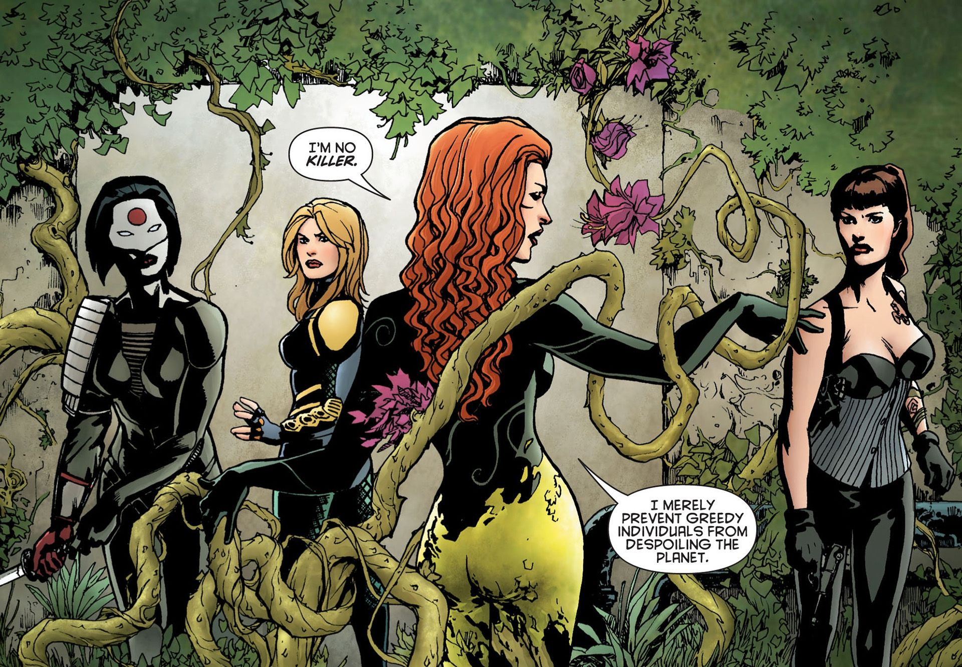 Image result for poison ivy powers character comic