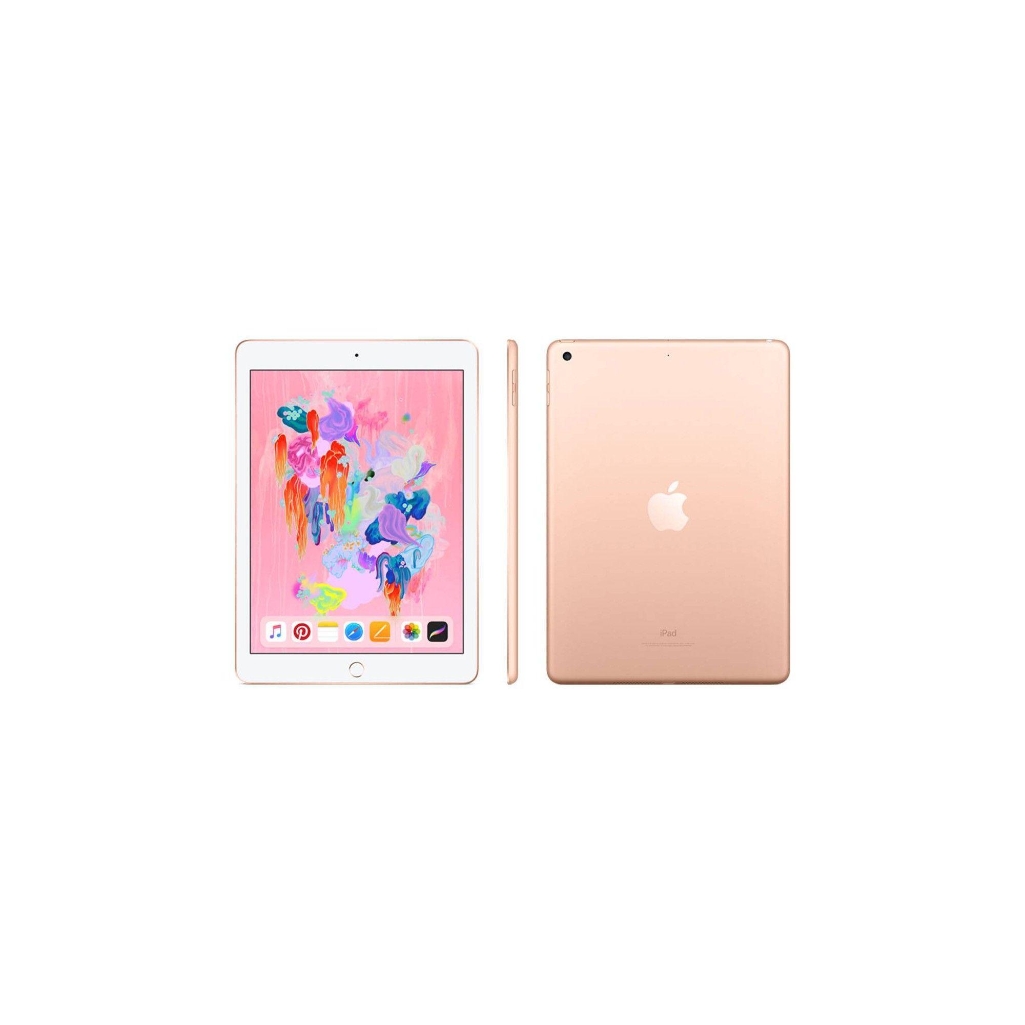 Apple Ipad 9 7 Inch 128gb Wi Fi Only 2018 Model 6th Generation Mrjp2ll A Gold Apple Ipad Ipad Retina Display