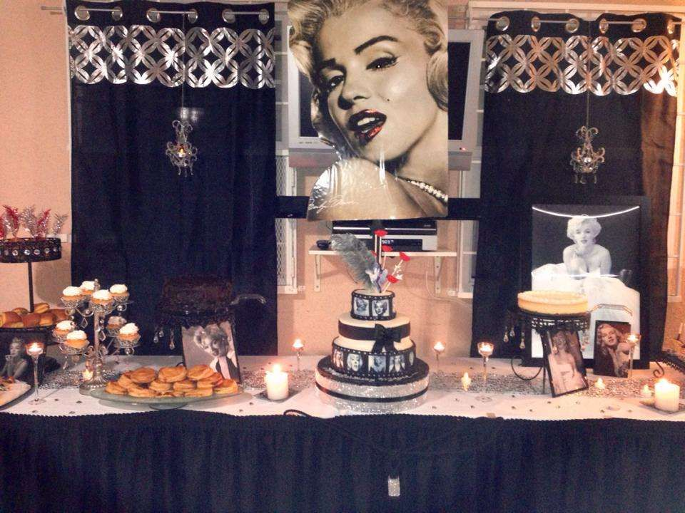 Marilyn Monroe Inspired Birthday for Mayra | CatchMyParty.com