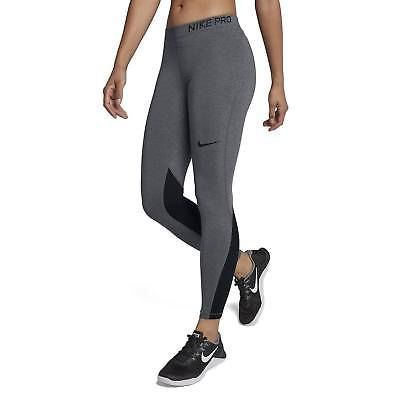 0bf6d7a1f0806b Nike Pro Womens Training Tights Running gym run grey 889561 071 size XS S M  L