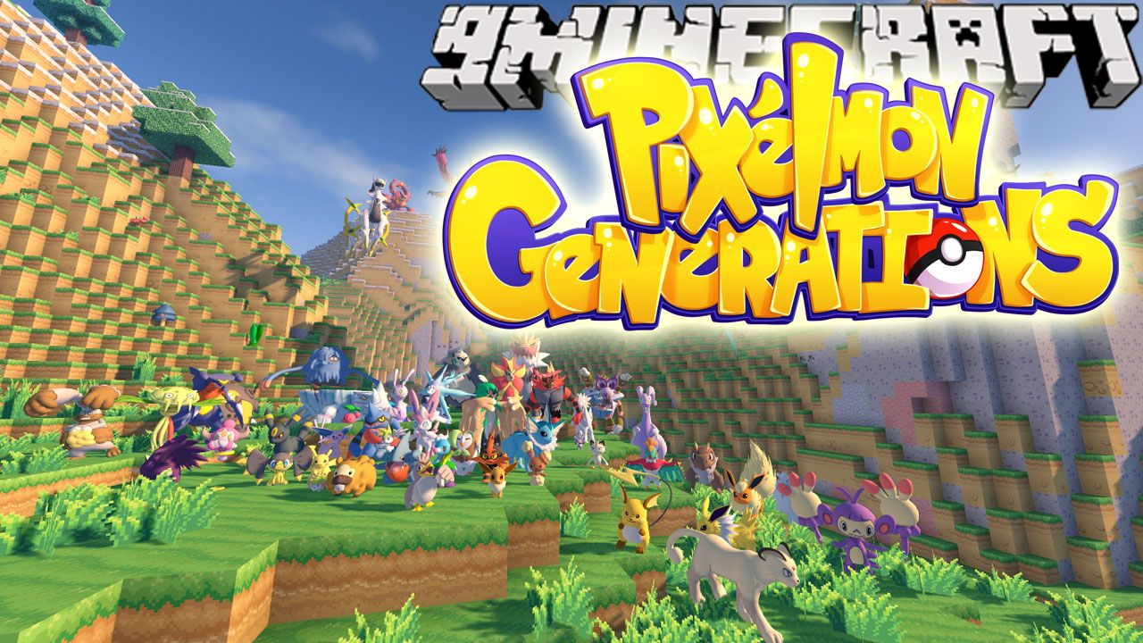 Pixelmon Generations Mod 1 10 2 Download | minecraft | Minecraft